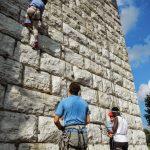 Walnut Wall in Coolidge Park